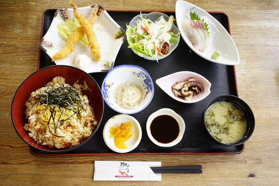 天草大王のまぜご飯おかずセット1,200円!