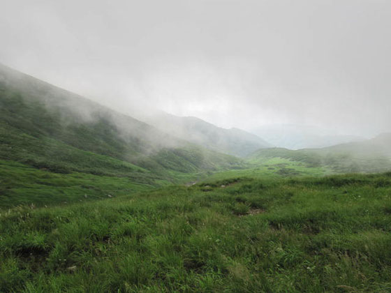 Mt Gassan (1,984 m)
