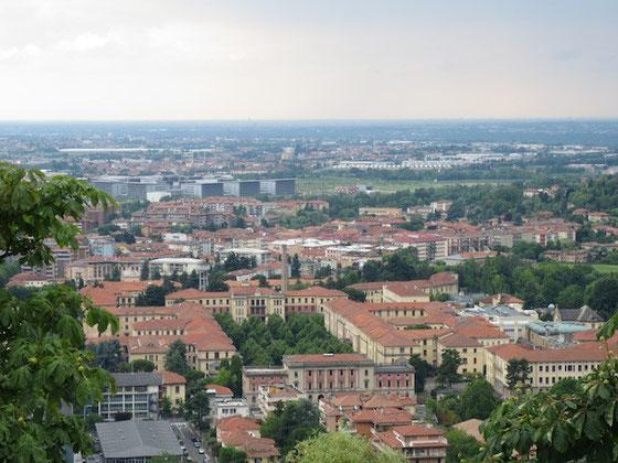 Bergamo alta (365 m)