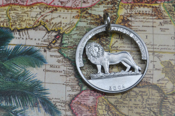Münzsägewerk Katrin Thull | Kongo - Löwe
