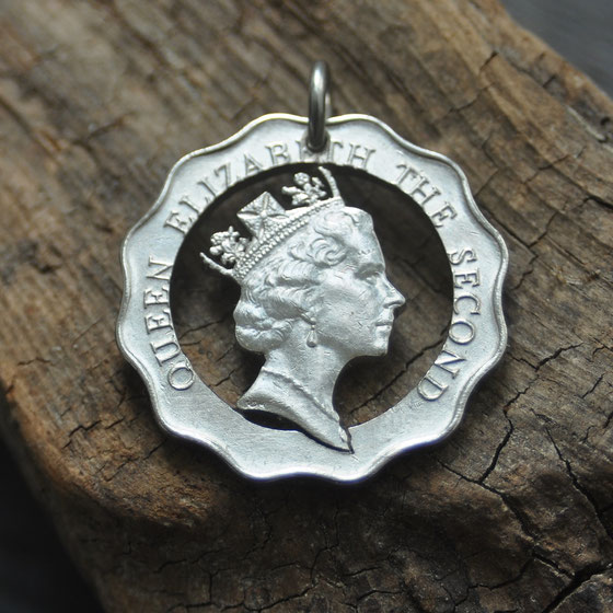 Münzsägewerk Katrin Thull | Großbritannien - Queen Elisabeth II.