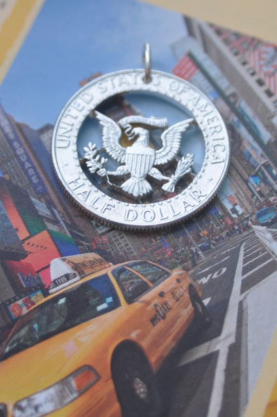 Münzsägewerk Katrin Thull | USA - Wappenadler