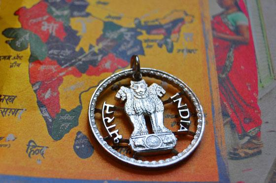 Münzsägewerk Katrin Thull | Indien - Löwenstatue