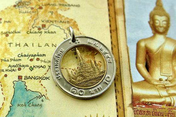 Münzsägewerk Katrin Thull | Thailand - Wat Arun Tempel der Morgenröte