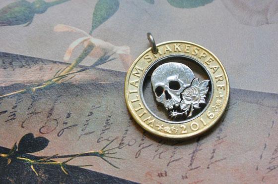 Münzsägewerk Katrin Thull | Großbritannien - Totenkopf