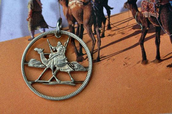 Münzsägewerk Katrin Thull | Sudan - Postkamelreiter