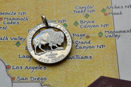 Münzsägewerk Katrin Thull | USA - Büffel