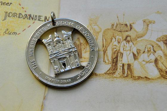 Münzsägewerk Katrin Thull   Jordanien - Petra Schatzhaus des Pharao