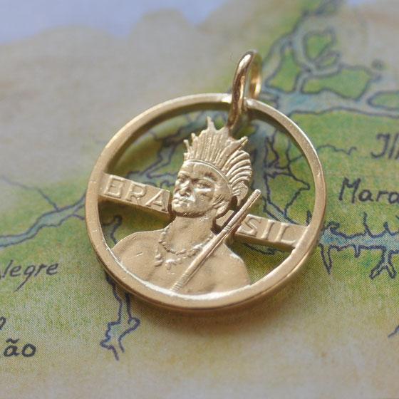 Münzsagewerk Katrin Thull   Brasilien - Ureinwohner