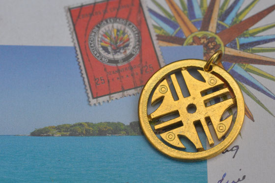 Münzsägewerk Katrin Thull | Kolumbien - Symbol in Gold