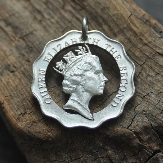 Münzsägewerk Katrin Thull | Hongkong - Queen Elisabeth II.