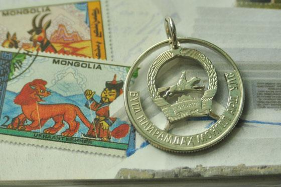 Münzsägewerk Katrin Thull | Mongolei - Reiter in der Steppe