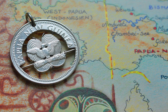 Münzsägewerk Katrin Thull | Papua Neuguinea - Paradiesvogel