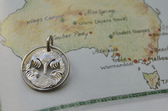 Münzsagewerk Katrin Thull | Australien - Schnabeligel