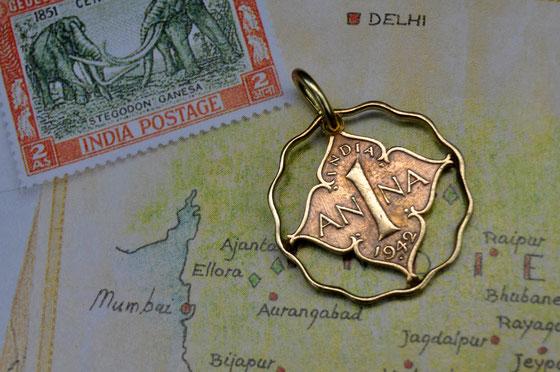 Münzsägewerk Katrin Thull | Indien - Anna