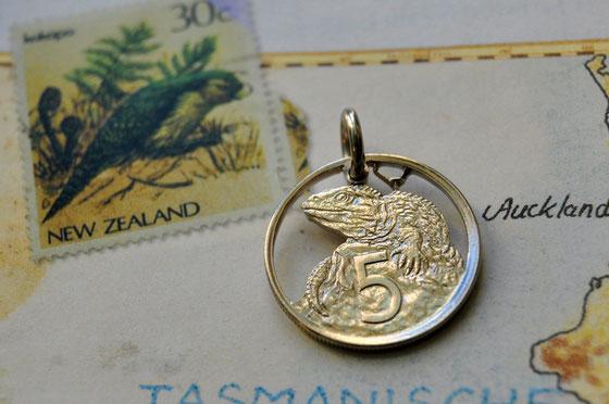 Münzsägewerk Katrin Thull | Neuseeland - Echse