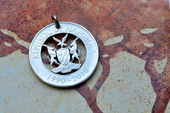 Münzsägewerk Katrin Thull | Namibia - Wappen