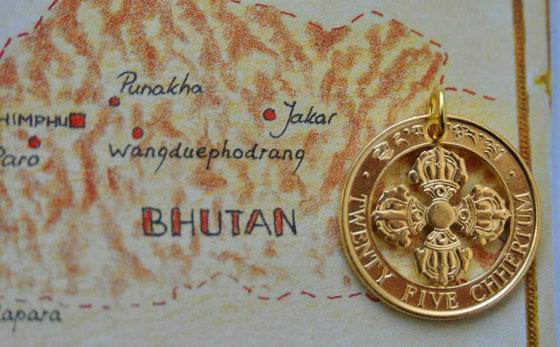 Münzsagewerk Katrin Thull | Bhutan - Donnerkeil Dorje