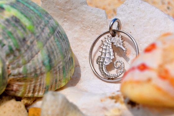 Münzsägewerk Katrin Thull | Singapur - Seepferdchen