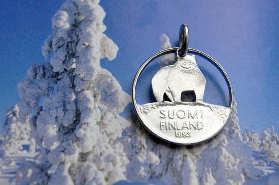 Münzsägewerk Katrin Thull   Finnland - Eisbär