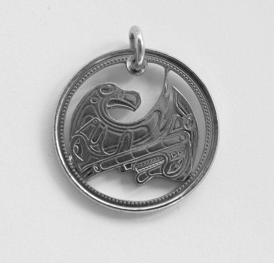 Münzsägewerk Katrin Thull | Kanada - Native Adler und Wolf