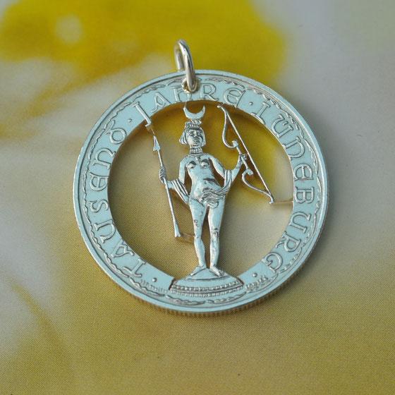 Münzsagewerk Katrin Thull | Deutschland - Lüneburg Luna Medaille