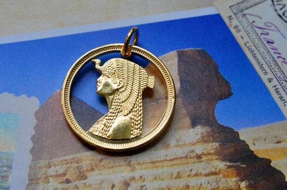 Münzsagewerk Katrin Thull | Ägypten Kleopatra