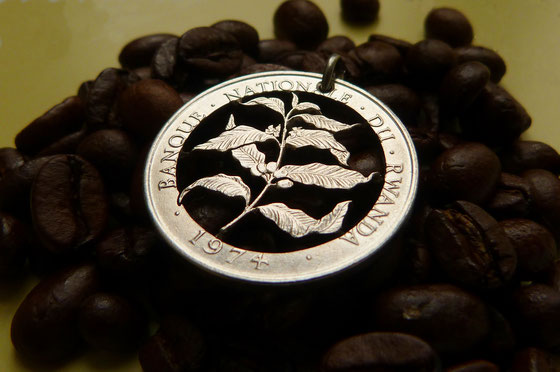 Münzsägewerk Katrin Thull | Ruanda - Kaffeepflanze