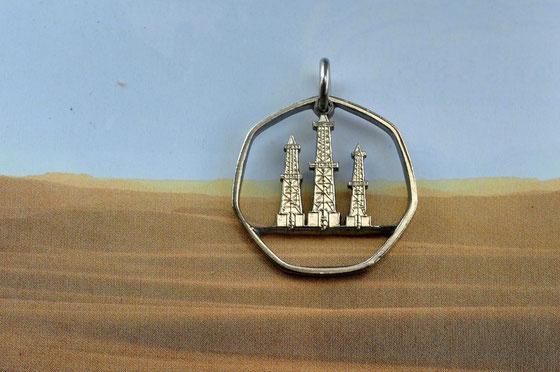 Münzsägewerk Katrin Thull   Vereinigte Arabische Emirate - Bohrtürme