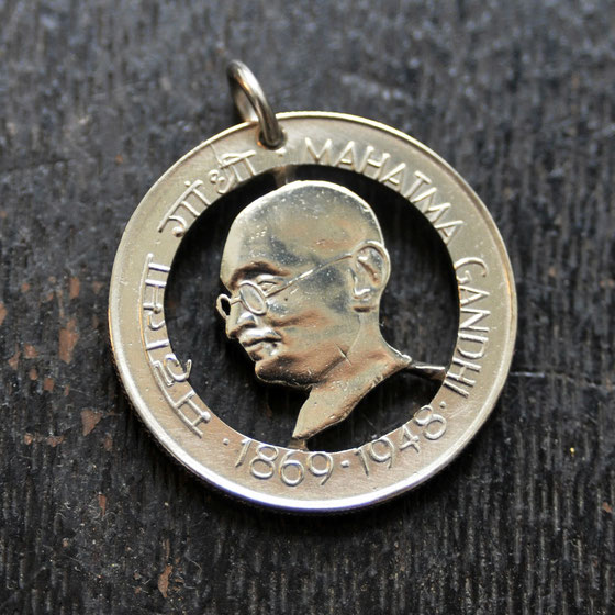 Münzsägewerk Katrin Thull | Indien - Mahatma Gandhi