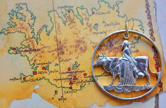 Münzsägewerk Katrin Thull | Island - Mutter Erde