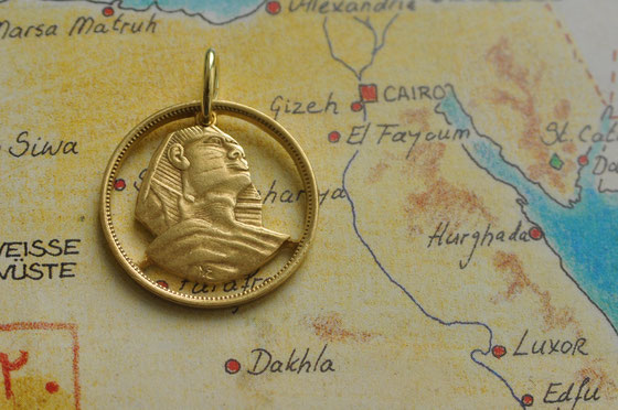 Münzsagewerk Katrin Thull | Ägypten Sphinx