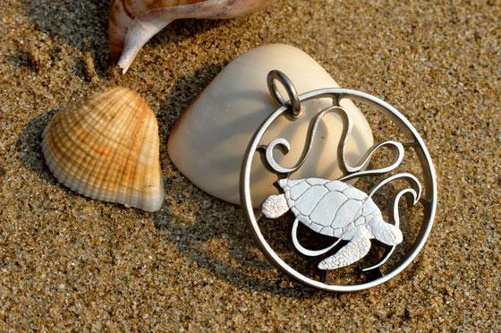 Münzsägewerk Katrin Thull | Seychellen - Meeresschildkröte