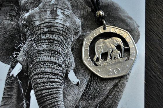 Münzsägewerk Katrin Thull   Tansania - Elefanten