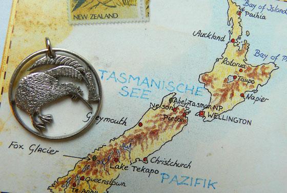 Münzsägewerk Katrin Thull | Neuseeland - Reiher