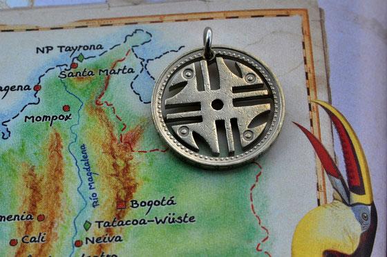 Münzsägewerk Katrin Thull | Kolumbien - Symbol
