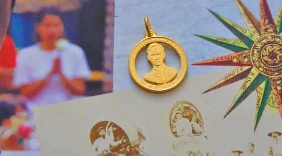 Münzsägewerk Katrin Thull | Thailand - König Bhumipol