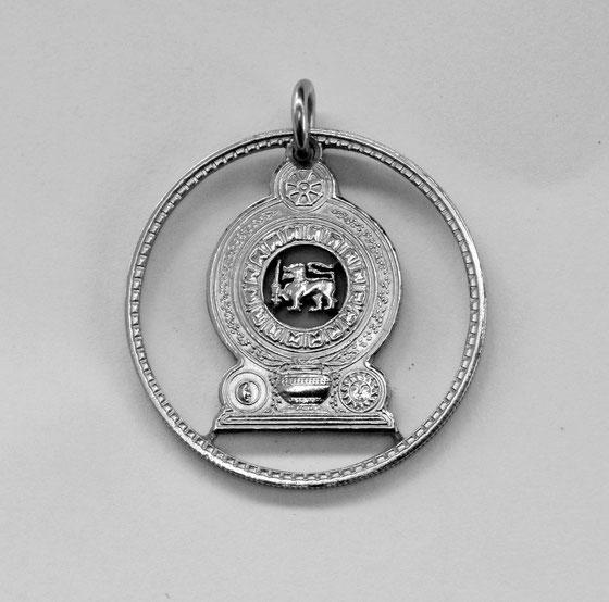Münzsägewerk Katrin Thull | Sri Lanka Ceylon - Nationalsymbol