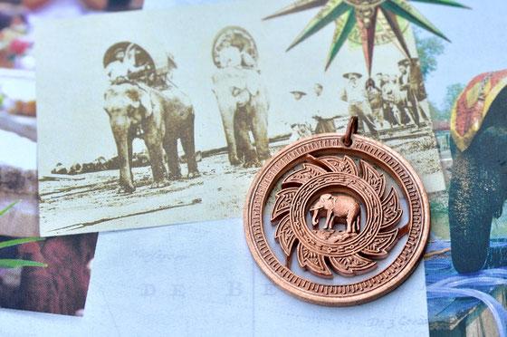 Münzsägewerk Katrin Thull | Thailand - Elefant mit Sonnensymbol