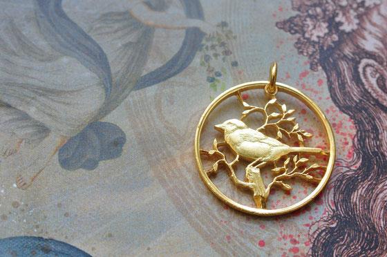 Münzsägewerk Katrin Thull | Kapverdische Inseln - Sperling goldplattiert