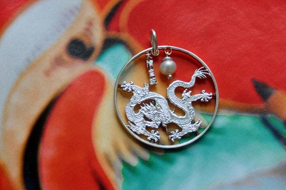 Münzsagewerk Katrin Thull | China - Drache mit Perle