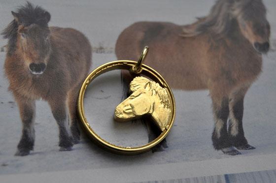 Münzsägewerk Katrin Thull   Island - Islandpferde