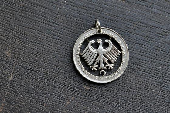 Münzsagewerk Katrin Thull | Deutschland - 2 DM Adler
