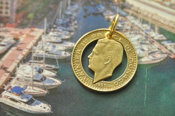 Münzsägewerk Katrin Thull | Monaco - Fürst Rainier