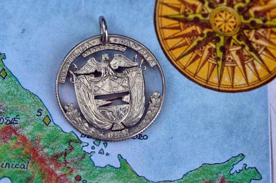 Münzsägewerk Katrin Thull   Panama - Wappen