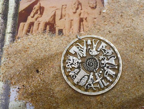 Münzsagewerk Katrin Thull | Ägypten Handwerkerspirale