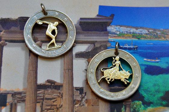 Münzsägewerk Katrin Thull | Griechenland - Diskuswerfer