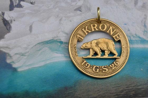 Münzsägewerk Katrin Thull | Grönland - Eisbär