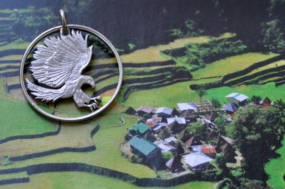Münzsägewerk Katrin Thull | Philippinen - Affenadler