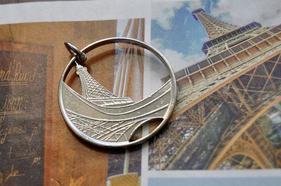 Münzsägewerk Katrin Thull | Frankreich - Eiffelturm